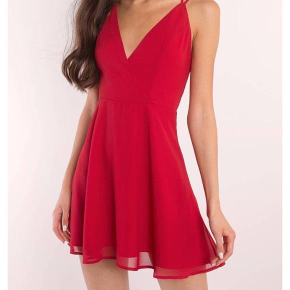 d83be55f Tobi Dresses | Short Red Dress | Poshmark